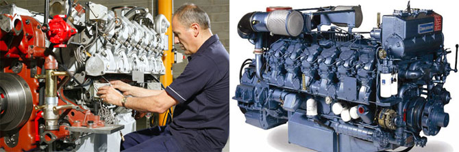 Sales of marine engines in Russia