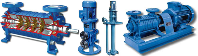 centrifugal pumps Garbarino, positive displacement pumps and spare parts to them